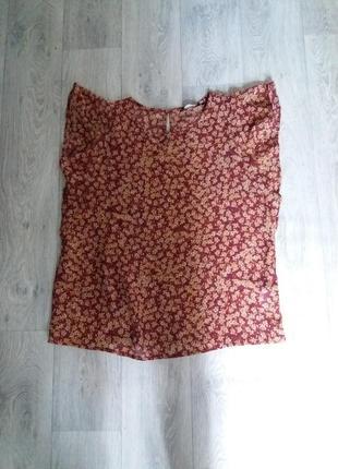 Шифоновая блуза new look uk16