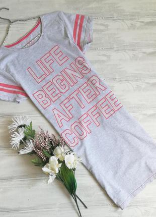 Трикотажная футболка-пижама с принтом 123827 love to lounge размер m