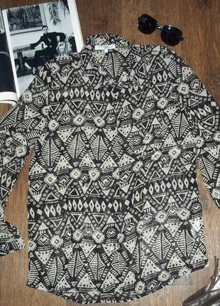 Лёгкая   невесомые блузка рубашка