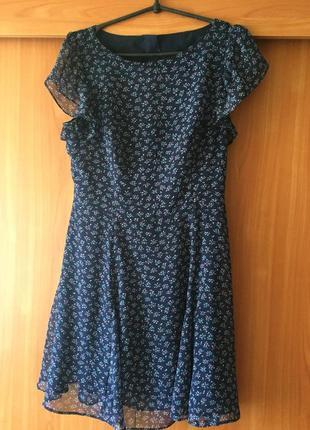 Платье с интересной спинкой