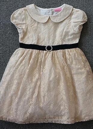 Нарядное платье 3,4,5 лет