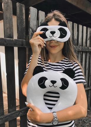 """Маска для сна """"панда по"""""""