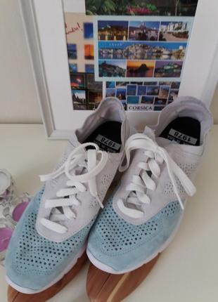 Замшевые  комбинированные  кроссовки new  balanse)оригинал   из сша,размер  42