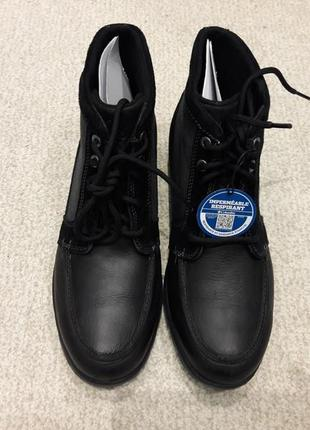 Columbia davenport - кожаные ботинки - оригинал - 44р - 29см