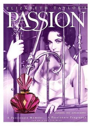 Passion elizabeth taylor,духи,parfum,винтаж,винтажные,миниатюра,оригинал
