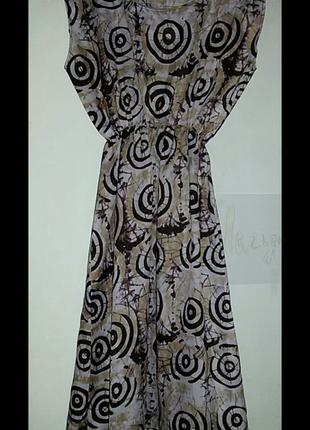 Легкое платье ручной работы.