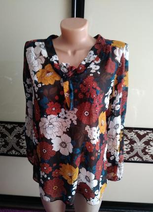 Шифонова блузка, шифоновая блуза