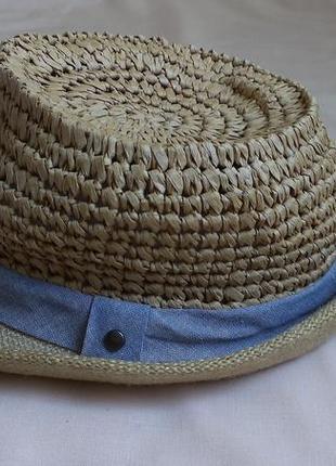 Соломенная шляпа унисекс