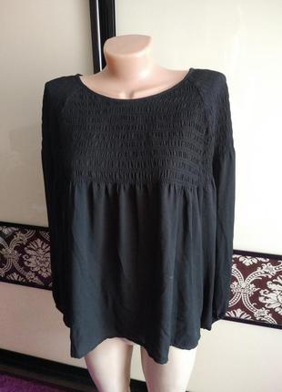 Шифоновая летящая блуза, блузка
