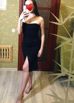 Шикарная юбка zara basic collection