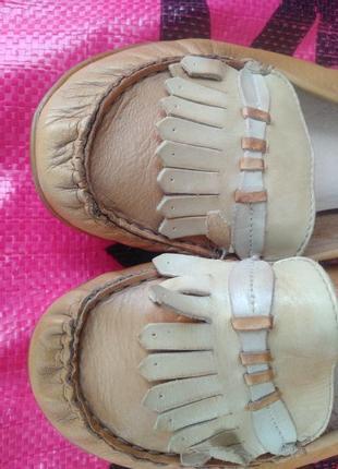 Шкіряні  туфлі /кожа