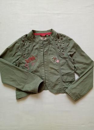 Стильный детский пиджак на 10 лет