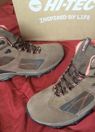 Ботинки hi-tec waterproof