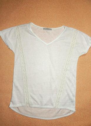 Белая хлопковая футболка от george. смотрите другие мои вещи4