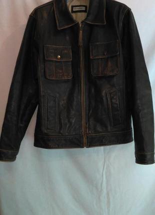 Супер отличная кожаная куртка