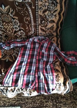 Рубашка в клєтку