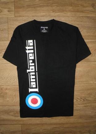 Плотная , качественная футболка lambretta heavy cotton t-shirt  размер м