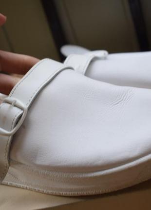 Ортопедические кожаные шлепанцы шлепки тапки италия р.9/43 28 см