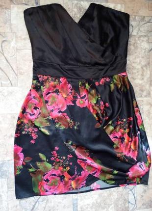 Нарядное платье шелковое платье london -распродажа