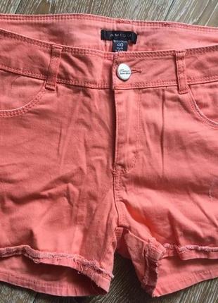Оранжевые шорты