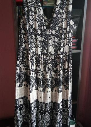 Натуральное платье сарафан asos р-р 18
