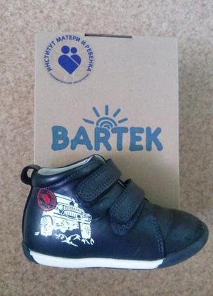 Демисезонные ботиночки bartek 23р.