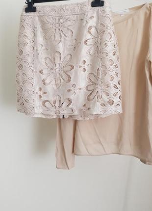 Юбка +блуза