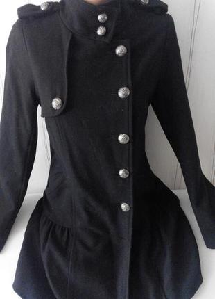 Кашемировое пальто . размер 42-44
