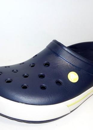 Фирменные кроксы сабо crocs crocband оригинал размер m 7 w 9 стелька 26 см.