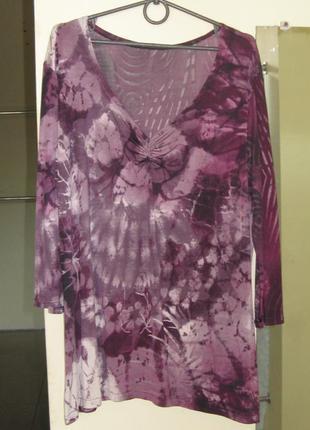 16-18 нарядная удлиненная блуза туника