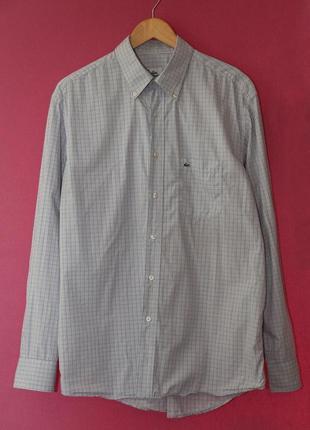 Lacoste рр 44 l-xl  рубашка, оригинал.