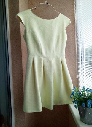 Платье лимонного цвета jones+jones