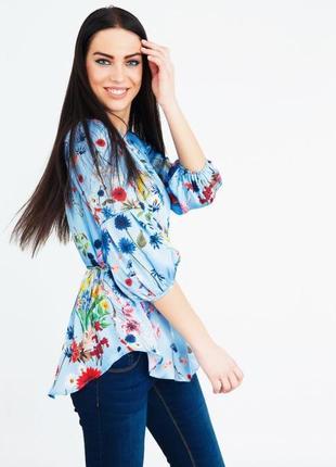 Блуза рубашка шелк италия