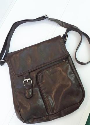 Daniel ray сумка мессенджер почтальонка планшетка на плечо германия новая
