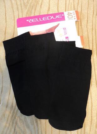Новые носки lelledue 2 пары носочки капроновые черные 40 ден den итальянские