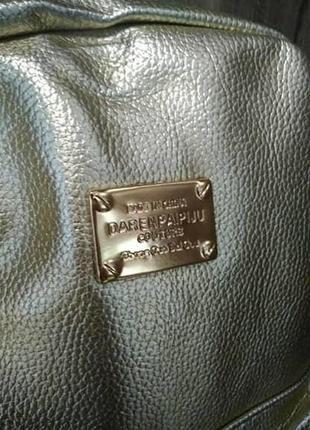 Рюкзак золото!!! р-р 32*25*12