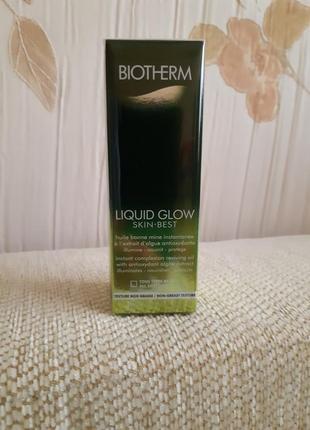Масло biotherm liquid glow skin best!  30ml