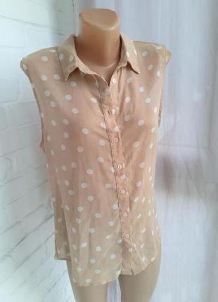 Легкая блуза  cameo rose