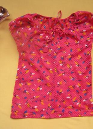 Красивая яркая кофта,футболка на 4-7 лет,польша,отличное состояние