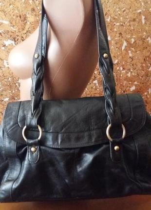 Отличная повседневная сумка 100%кожа