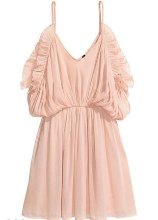 Платье h&m короткое