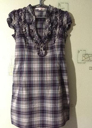 Платье в клетку tally weijl