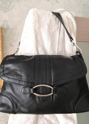 Большая кожаная сумка joshua taylor