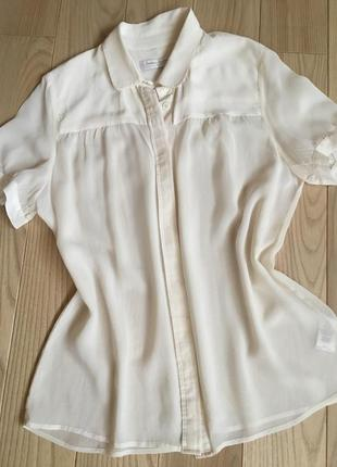 Распродажа!шелковая блузочка french connection classlc 100% шелк