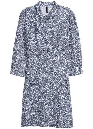 Нежное женственное платье рубашка из вискозы,нежное платье в цветочный принт