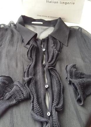 Шифоновая блуза intimissimi