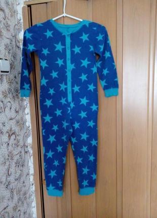 Х.б слип- пижама- человечек на 7-8 лет