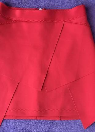 Красная юбка мини imperial