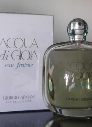 f8e4d3dc794e Оригінал парфуми армані .giorgio armani acqua di gioia eau fraiche.100ml
