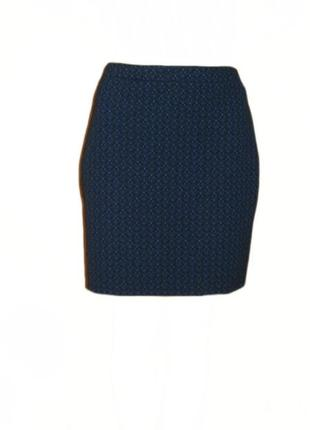 Юбка цветочный принт george, коротка прямая юбка размер 14 наш 48